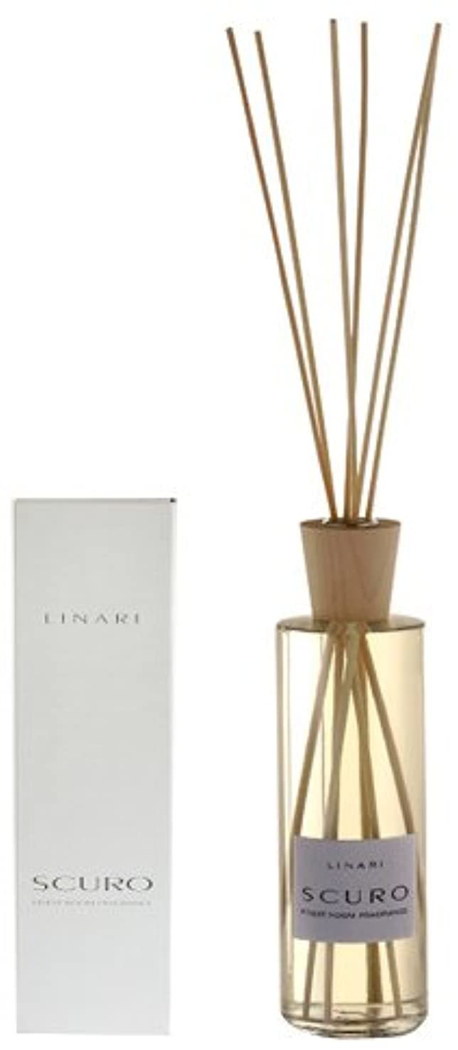 ネブ見つける窒息させるLINARI リナーリ ルームディフューザー 500ml SCURO スクロ ナチュラルスティック natural stick room diffuser