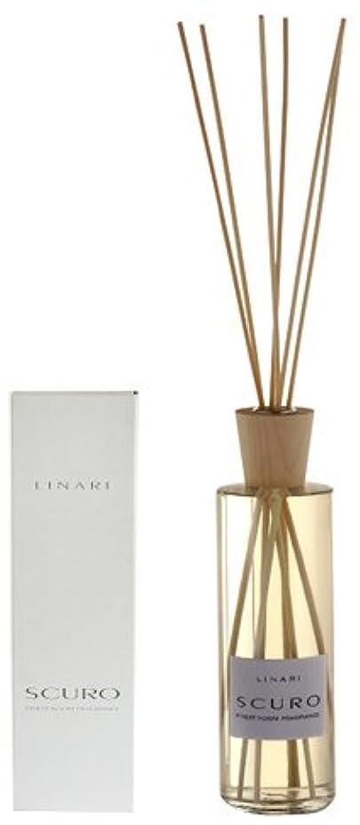 ぶどう残る転倒LINARI リナーリ ルームディフューザー 500ml SCURO スクロ ナチュラルスティック natural stick room diffuser