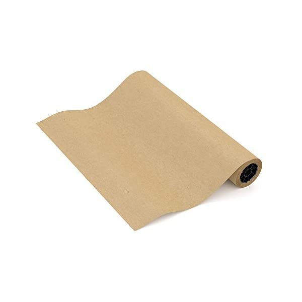 Kraft Butcher Paper roll - Long 24 inch x 175 feet (2100 inch) - Great Smoking Wrapping Paper for Meat of All Varieties… 1