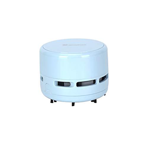 Mini Handstaubsauger Akku Staubsauger Tischstaubsauger für Reinigung Krümel Hohe Saugleistung Mini Sauger Reiniger für Tisch Zuhause Büro Schreibtisch und Auto (Blau)