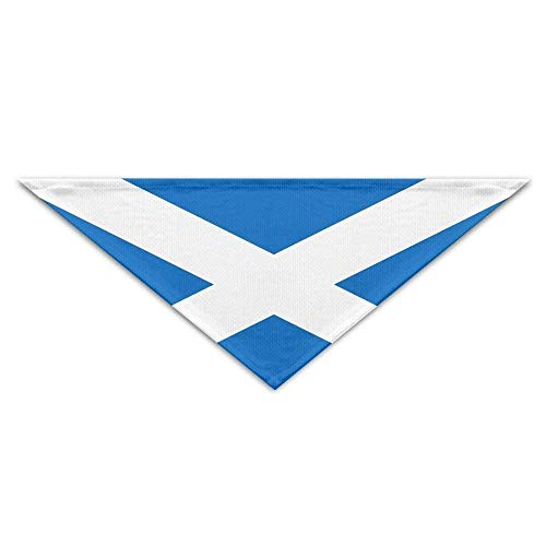Hectwya huisdier Bandanas nationale vlag van Schotland hond Bandanas sjaals driehoek slabbetjes sjaals grappige Basic honden halsdoek kat halsbanden huisdier kostuum accessoires Kerchief vakantie verjaardagscadeau