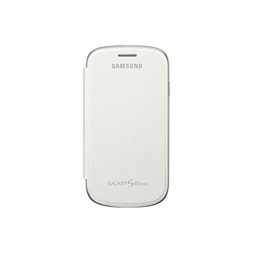 Samsung EFC-1M7FWEGSTD Flip Cover per Galaxy S3 Mini, Bianco