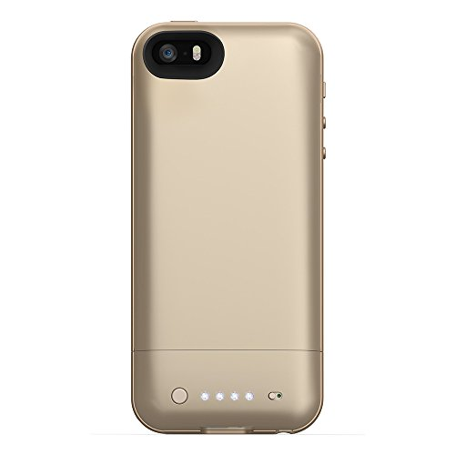 mophie juice pack Air for iPhone 5/5s/5se (1,700mAh) - Gold