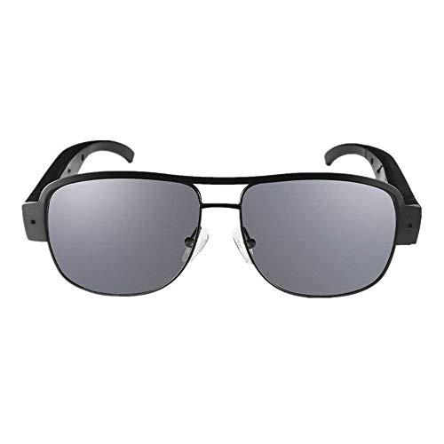 Mofek - Gafas de sol (8 GB, Full 1080p, HD, cámara de vigilancia, 1920 x 1080)