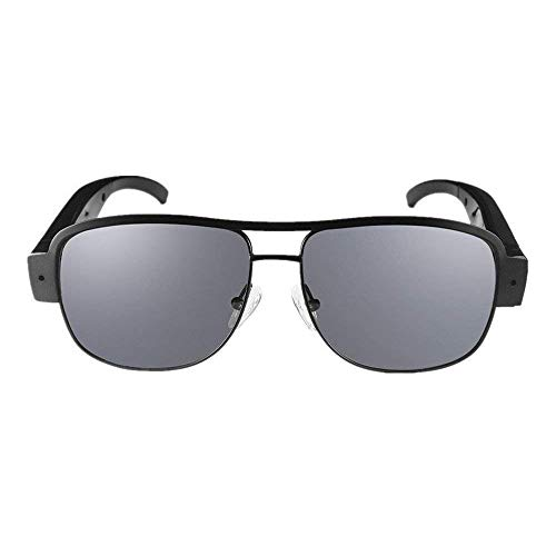 Mofek 8 GB Full 1080P HD Spionagekamera, moderene Sonnenbrille, 1920 x 1080 Überwachungskamera, Video-Cam, DV, DVR