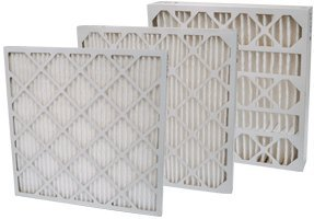 20x20x1 MERV 8 Pleated 1' Air Filter for Furnace or Air Conditioner (12 Pack)