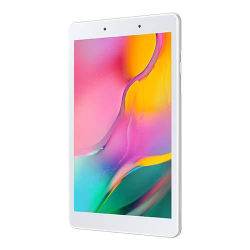 Samsung Galaxy Tab A (2019) Tablet mit 20,3 cm (8 Zoll), WiFi, 32 GB, 2 GB RAM, Quad-Core 2,0 GHz, Kamera mit 8 MP (AF) + 2 MP Silber