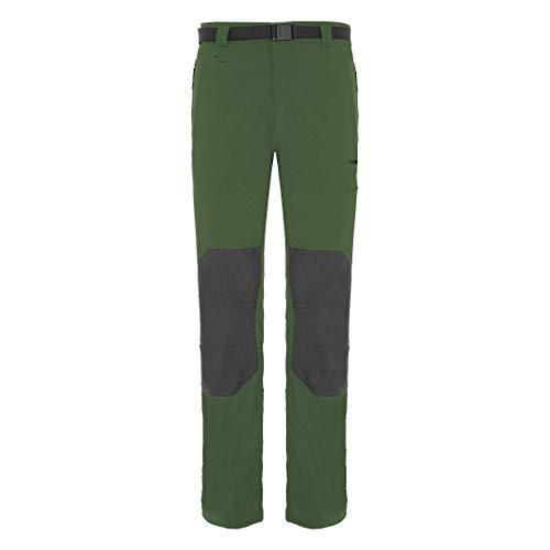 Trangoworld Zayo Dn Pant. Long, Homme XL Vert foncé/Ombre foncée