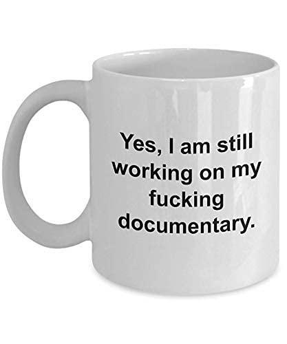 N\A Obsequio de documentalista - Obsequio de cineasta - Taza de Director de fotografía - Documental - Obsequio de productor - Mi puto documental