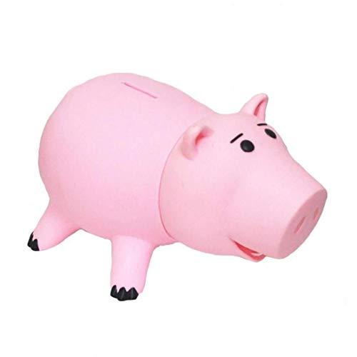 Dorime Cerdo Juguete plástico Hucha Cerdo Color Rosa
