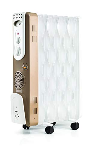 Usha 3609FS PTC 2000-Watt Oil Filled Radiator (White)