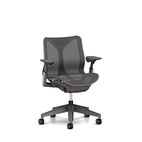 Herman Miller  Cosm Chair, Low Back, Carbon