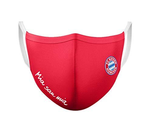FC Bayern München Maske Mund-& Nasenmaske Community-Maske ROT