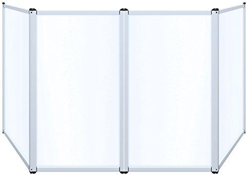 Novopro DJS2 DJ-Bildschirm, leicht, Weiß