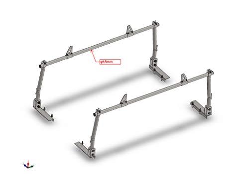 Erickson 07706 Steel Truck Rack (78' x 14.7' x 33.5' Assembled, 800lb Rated)