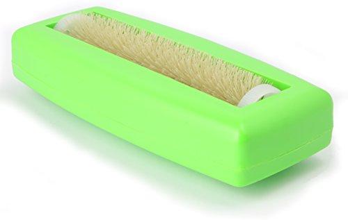 Crumpy Krümelbürste, Krümelroller Tischroller Tischbesen Teppichbürste Tischkehrer Handstaubsauger Tischdecken Bürste Auto Caravan staubsauger Rapido Grün