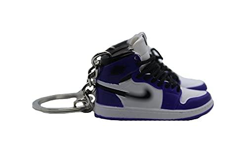 Sneaker Schlüsselanhänger AJ 3D Modell Anhänger Dekoration Schhlüsselbund Kreatives Geschenk für Jungen und Mädchen (CP1)