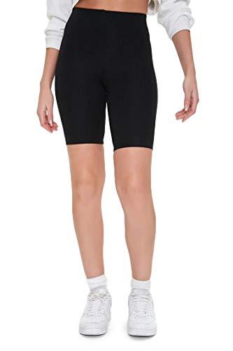 Kuckuck Kurze Damen Leggings aus Baumwolle, Sporthose Damen Kurz für Sommer, Sport, Streetwear