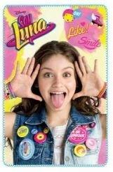 Soy Luna Manta Polar Like Smile + Pack Calcetines REGALITOS TV