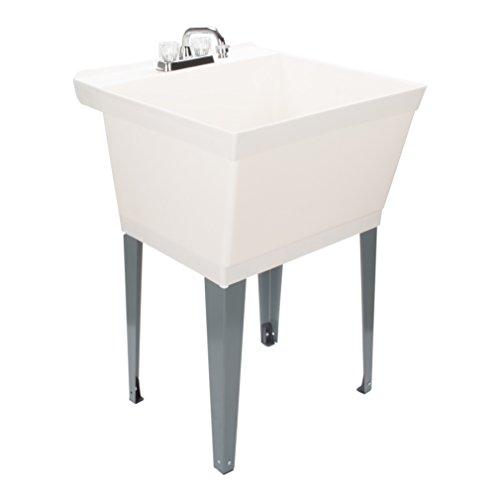 LDR Industries 040 5000 Utility Sink, White