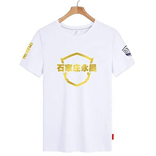 Uniforme del Equipo Camiseta De Manga Corta para Hombres Y Mujeres Deportes Y Ocio Camiseta De Media Manga Ropa De Fútbol S