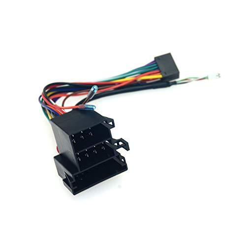 FEELDO Adaptador USB del arnés de cableado del coche 16pin para Hyundai Verna/Accent/Forte/Cerato/Sorento/Sportage/Soul Stereo Instalación
