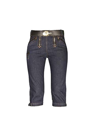 OYSTER Damen Zunfthose Lore Stretch Jeans, Größe 38, blau