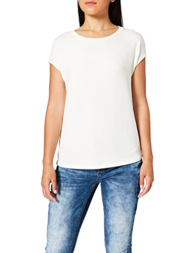 Street One Damen 316372 T-Shirt, Off White, 46