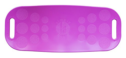 Simply Fit Board - The Workout Balance Board with a Twist, As Seen on TV, Magenta