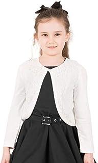 BlackButterfly Kids Long Sleeve Lace Bolero Cardigan Childrens Girls Shrug