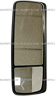 Door Mirror Power Heated Chrome Cover - Driver Side (Fit: Volvo VNL 670 780 630 730 860, VNM 200 430 630, VNX 300 Trucks)