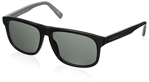 Ermenegildo Zegna Sonnenbrille EZ0003 Gafas de sol, Negro (Schwarz), 57.0 para Hombre