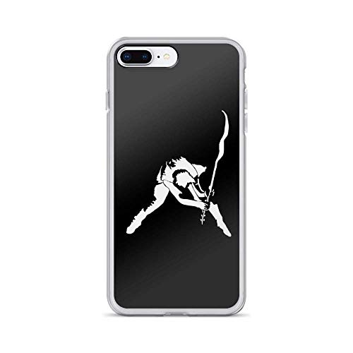 Roadiress The Clash - London Calling Compatible con iPhone 12/12Pro MAX 12 Mini 11 Pro MAX XR XS/XsMax SE 2020 7 8 6/6s Plus Huawei Samsung Series Funda Protectora