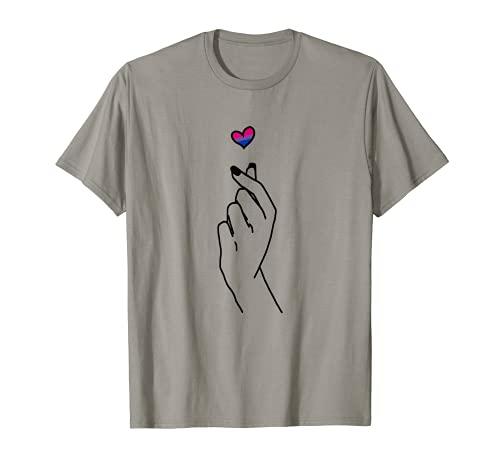 Bisexual Shirt Kpop Merch Bi Pride Merch Korean Fashion Camiseta