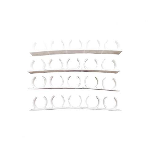 DierCosy Tools Organizador de Especias Pared Estantería de Almacenamiento de Clip de la Abrazadera Principal Puerta del Armario Rack Ganchos de Cocina Estante de la Pared de la Cocina 4pcs