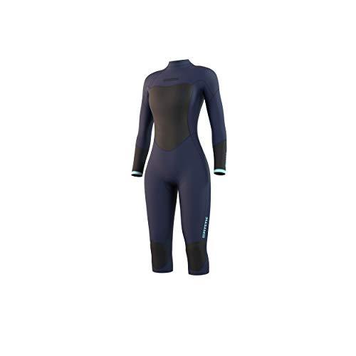 Mystic Watersports - Surf Kitesurf & Windsurfing Damen Brand 3/2mm Kurzbein Neoprenanzug - Nachtblau - Easy Stretch