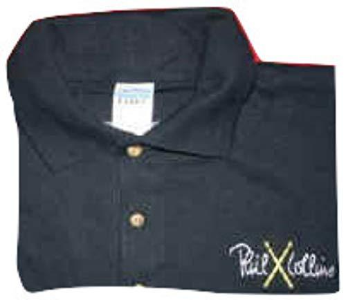 Officiële Band Merchandise Phil Collins '2004 Tour Polo Shirt' marineblauw