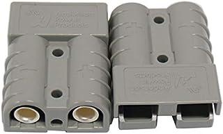 Packet of 2 Genuine Anderson Plug Connectors 50A Caravan Trailer Solar 4x4 Truck