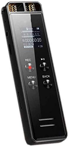 ZouYongKang 32 GB Mini Voice Activated Recorder, Grabador de Audio magnético Dispositivos de grabación pequeños, Reproductor de MP3 de grabadora de Voz Digital para conferencias, reunión, entrevista