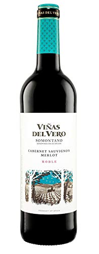Viñas Del Vero Vino Tinto Cabernet Merlot DO - Somontano, 750ml