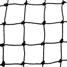 NUISIPRO Red de protección negro–banda de1.50m X 5.00m–materia, fácil de cortar.