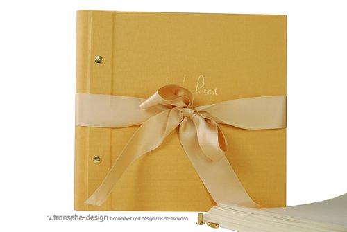 v. transehe design Fotoalbum/Hochzeitsalbum Hochzeitsserie beige