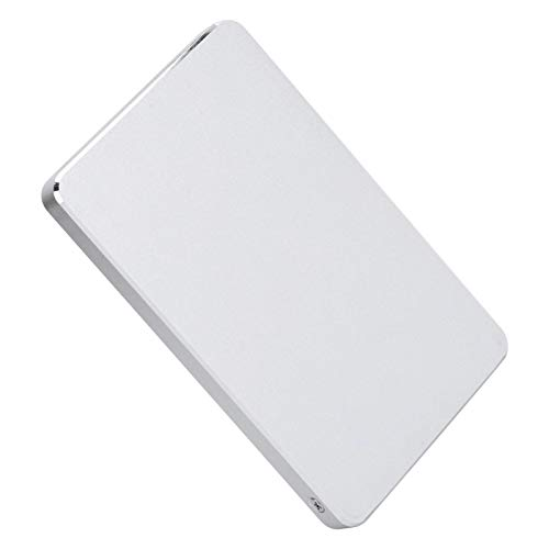1 TB / 2 TB / 320 GB Externe Harde Schijf HDD,2,5 Inch USB3.0 Harde Schijf Draagbare Externe Mobiele Harde Schijf voor Pc, Laptop en Mac-computeraccessoire(320GB-Zilver)