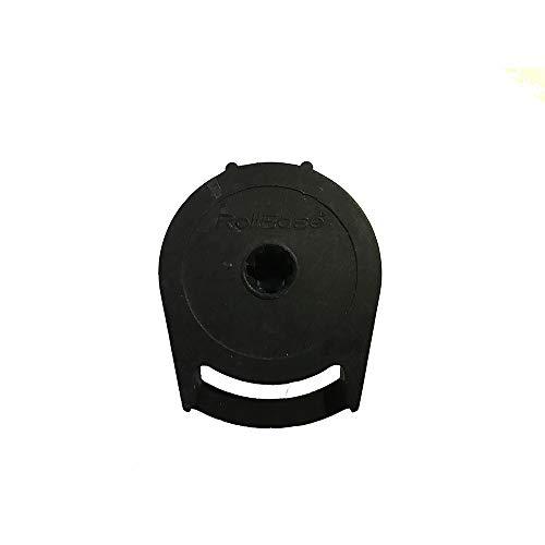 RollEase - R8 Rollschirm-Kupplung für 1 1/4 Zoll Rohr – Schwarz