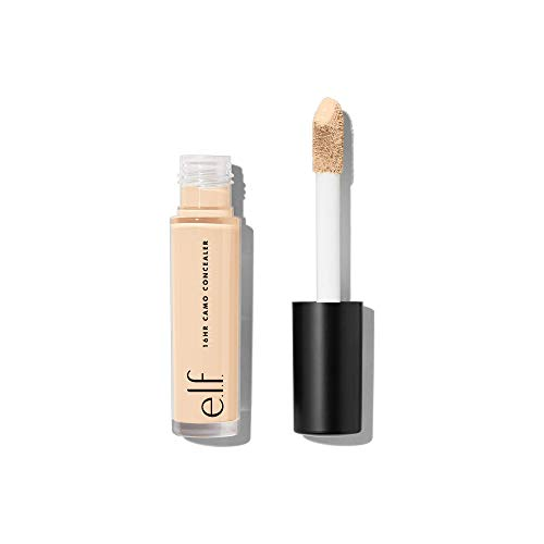 e.l.f. 16HR Camo Concealer, Full Coverage, Lightweight, Conceals, Corrects, Contours, Highlights, Light Sand, Dries Matte, 6 Shades + 27 Colors, Ideal for All Skin Types 6ml