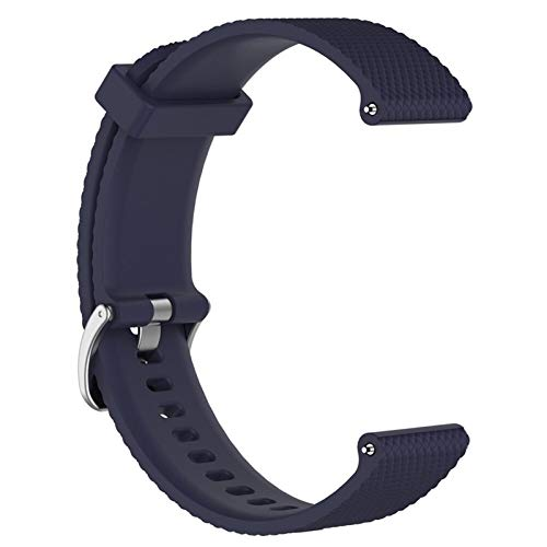 YUANYUAN520 Bracelet Bracelet for Polar Vantage M Smartwatch Band Bracelet Bracelet De Sangles De Rechange Accessoires Silicone Souple Bande Unisexe Comfortable (Color : Navy Blue)