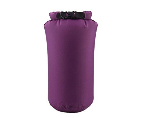 Fengh 8L étanche Dry Pouch Sac de compression pour le Bateau de pêche Rafting canoë en (Violet)