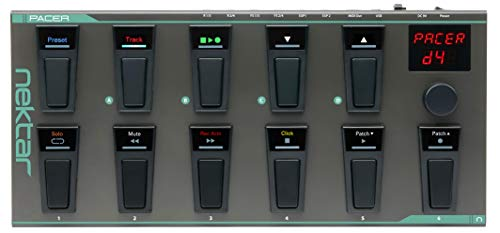 Nektar Pacer USB MIDI Footswitch Controller with Nektar DAW Integration