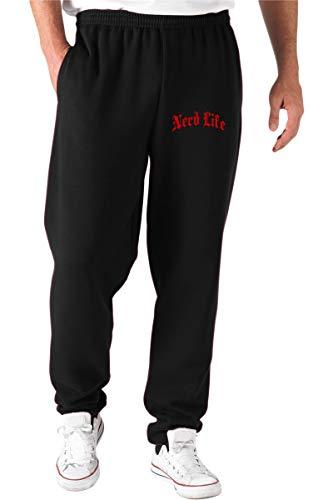 T-Shirtshock Jogginghose Schwarz FUN2593 Nerd Life Gothic Thug