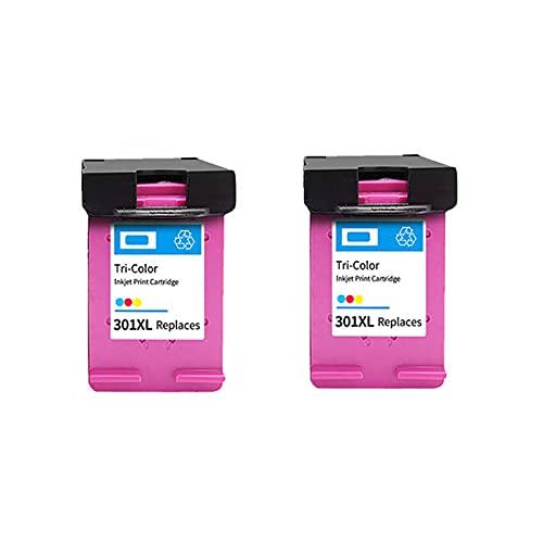 PUGONGYING Popular Fit de reemplazo 301XL para HP 301 XL HP301 Cartucho de Tinta Ajuste para HP DeskJet 2050 1000 1050 2510 3000 3054 Envy 4500 4502 Impresora Durable (Color : 2 Colours)